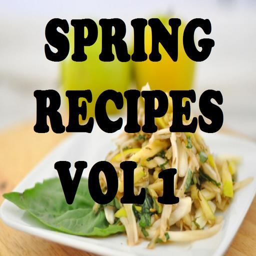 Spring Recipes Cookbook Vol 1 front-134443