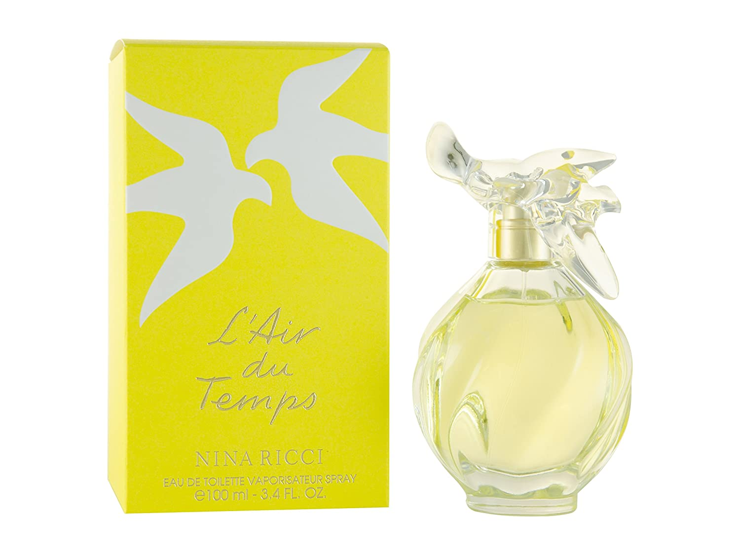 l 39 air du temps by nina ricci 3 3 oz 3 4 oz edt women perfume 940356682836 ebay. Black Bedroom Furniture Sets. Home Design Ideas