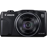 Canon PowerShot SX710 HS 20.3MP Full HD 1080p Digital Camera with 30x Optical Zoom (Black)