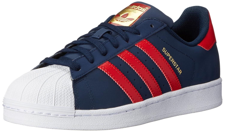Adidas Superstar Azul Con Rojo