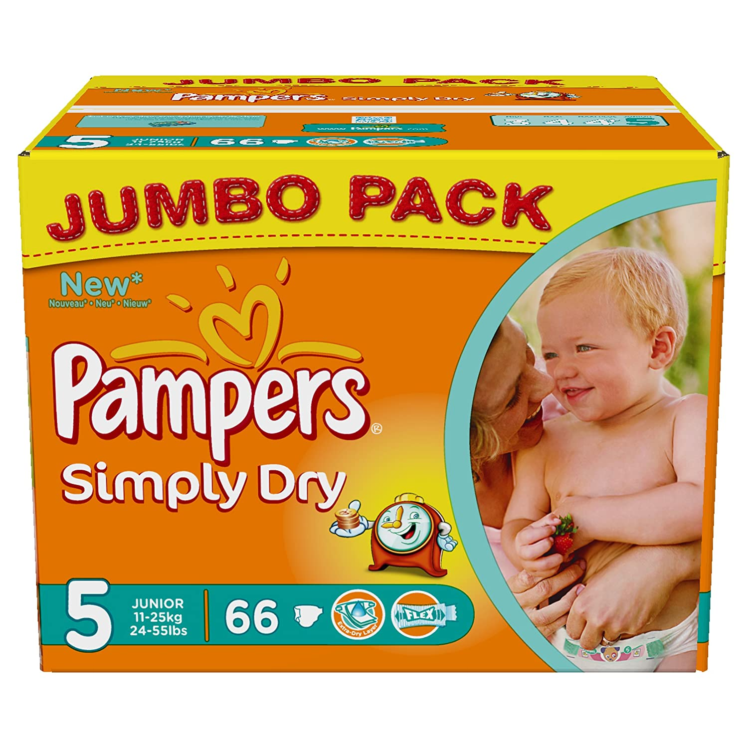Pampers Nappies Sizes Uk