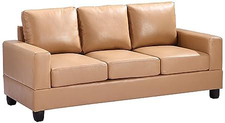 Glory Furniture G301A-S Living Room Sofa, Tan