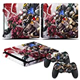 EBTY-Dreams Inc. - Sony Playstation 4 Slim (PS4 Slim) - Mobile Suit Gundam Iron-Blooded Orphans Anime Barbatos Tekkadan Vinyl Skin Sticker Decal Protector