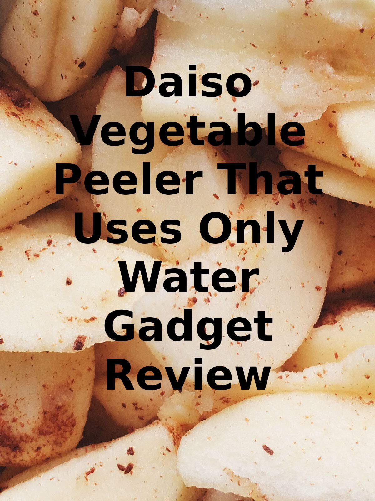 Review: Daiso Vegetable Peeler That Uses Only Water Gadget Review on Amazon Prime Video UK