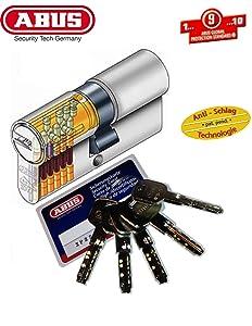 ABUS XP2S ProfilDoppelzylinder Länge 30/45mm mit 5 Schlüssel  BaumarktÜberprüfung und Beschreibung