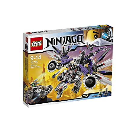 Lego Ninjago - Playthèmes - 70725 - Jeu De Construction - L'attaque Du Dragon Nindroïde