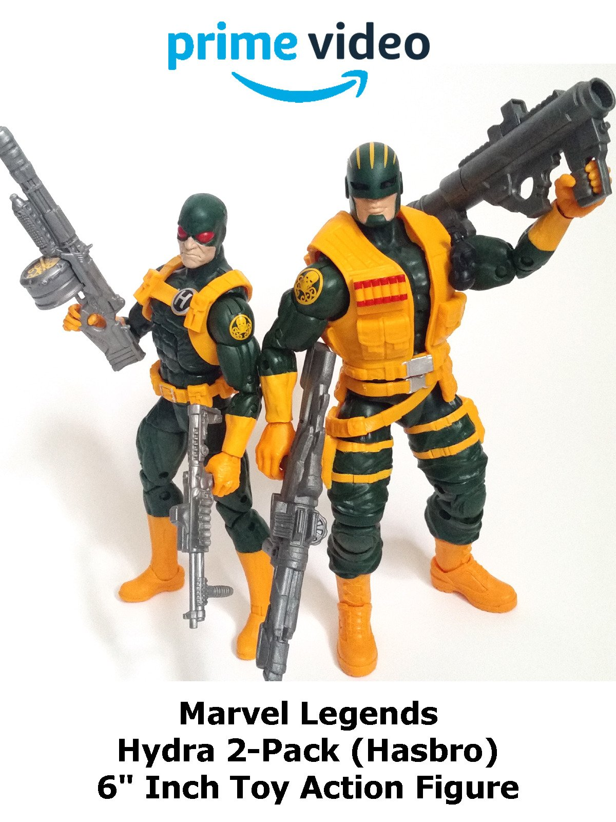 "Review: Marvel Legends Hydra 2-Pack (Hasbro) 6"" Inch Toy Action Figure"
