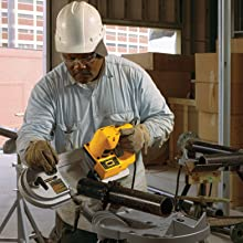 DEWALT DW328 Variable-Speed Deep Cut Portable Band Saw