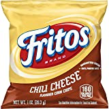 Fritos Corn Chips, Chili Cheese, 1oz Bags, 40 Count