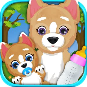 My born Puppy - Baby & Mommy Pregnancy Care for Pets from Detention Apps