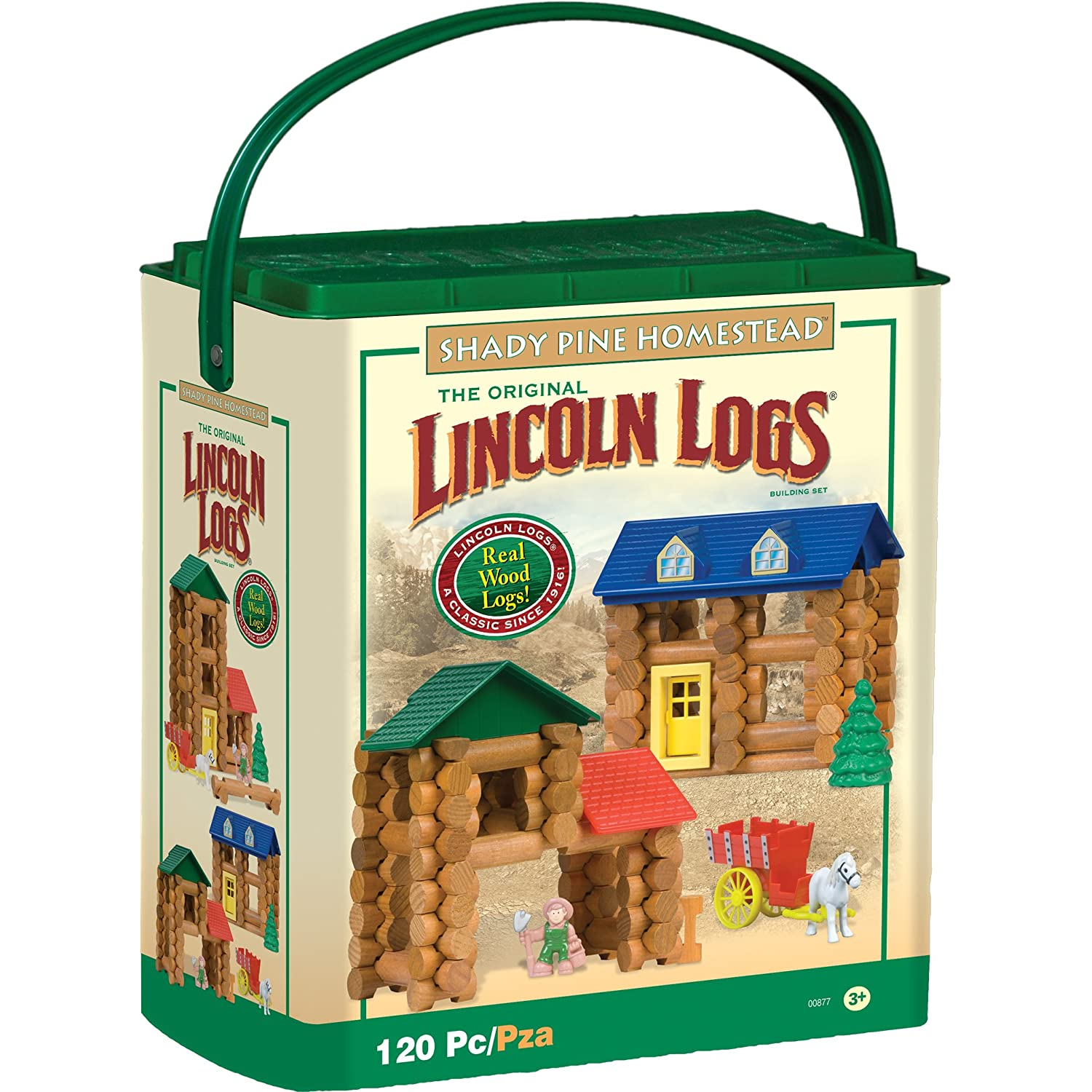 Mommy Katie: Home For The Holidays: Lincoln Logs Review and ...