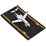 Hot Wings Private Jet with Connectible Runway (Color: White & Black)
