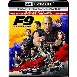 F9: The Fast Saga [4K Ultra HD + Blu-ray]