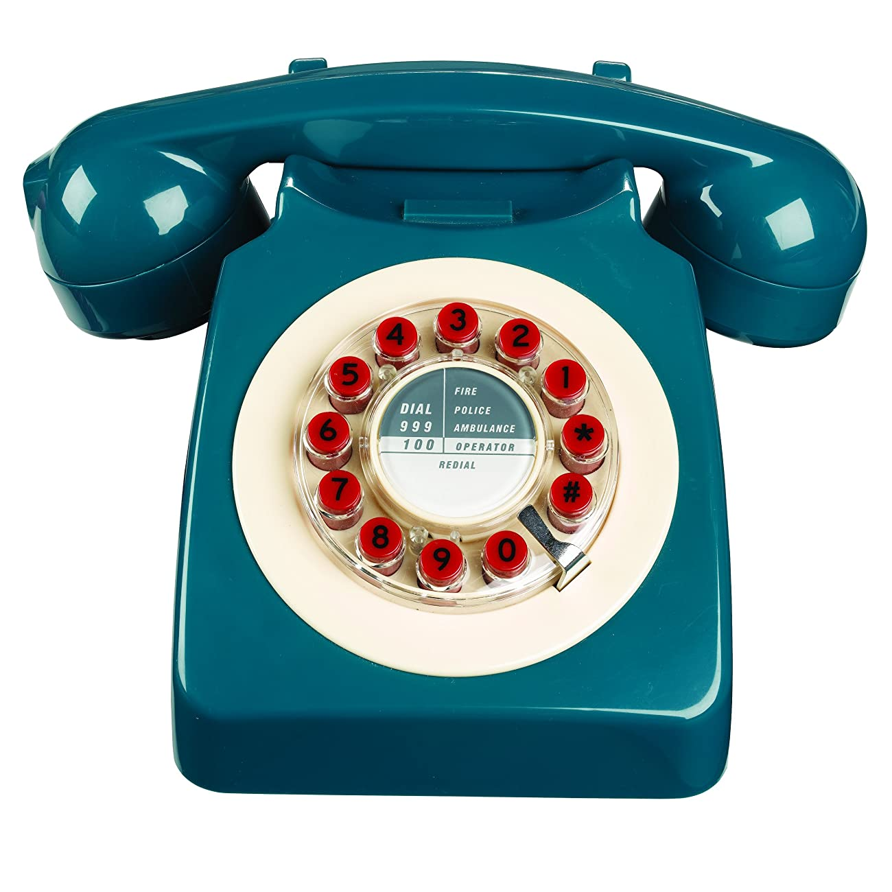 746 Phone Retro Design - Petrol Blue 0