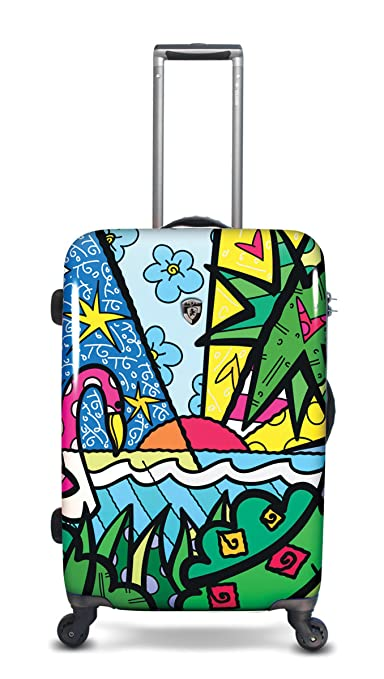 Click to buy Heys USA Luggage Britto Palm 26 Inch Hardside Spinner from Amazon!