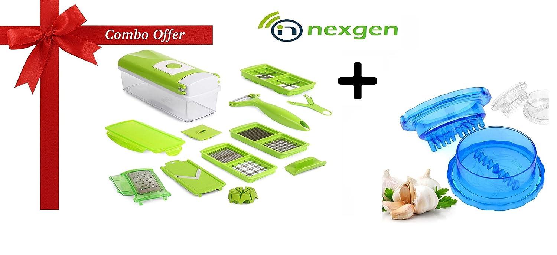 nexgen combo offer nicer dicer plus 12 pc multi chopper. Black Bedroom Furniture Sets. Home Design Ideas
