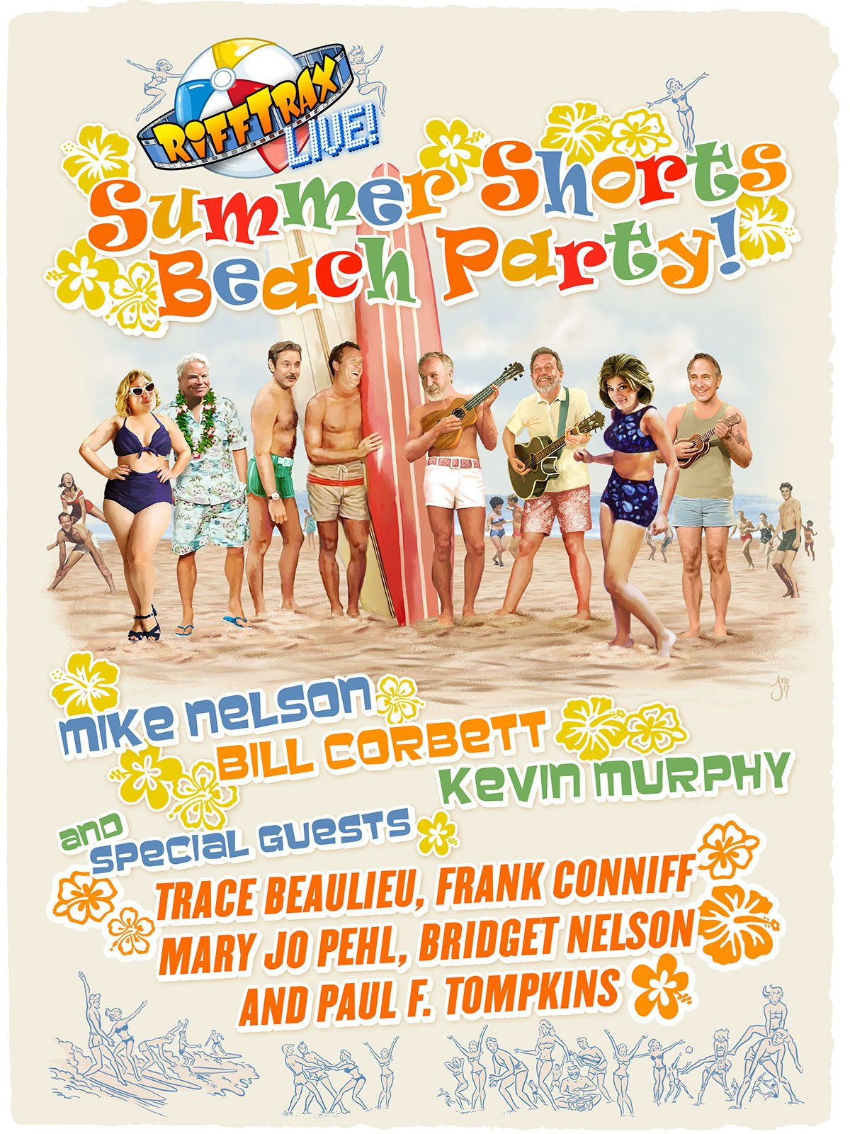 RiffTrax Live: Summer Shorts Beach Party on Amazon Prime Instant Video UK