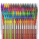 ARTEZA TwiMarkers, Set of 100 Colors, Dual Tip Sketch Markers, with Fine & Brush Tips for Coloring, Calligraphy, Sketching, Doodling, Drawing, Journaling, Hand Lettering & Painting
