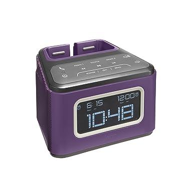 JAM ZZZ Wireless Alarm Clock Purple HX B510PU