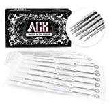 ACE Needles 50 pcs. Round Curved Magnum Sterile Tattoo Needles - 9RM (9 Round Mag)