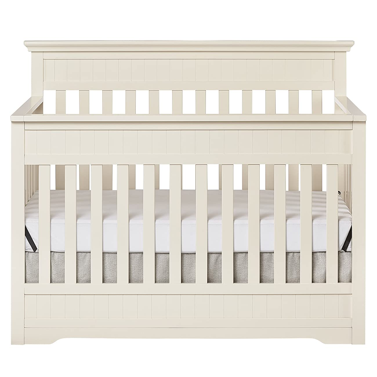 Dream On Me Chesapeake 5-In-1 Convertible Crib, French White 0