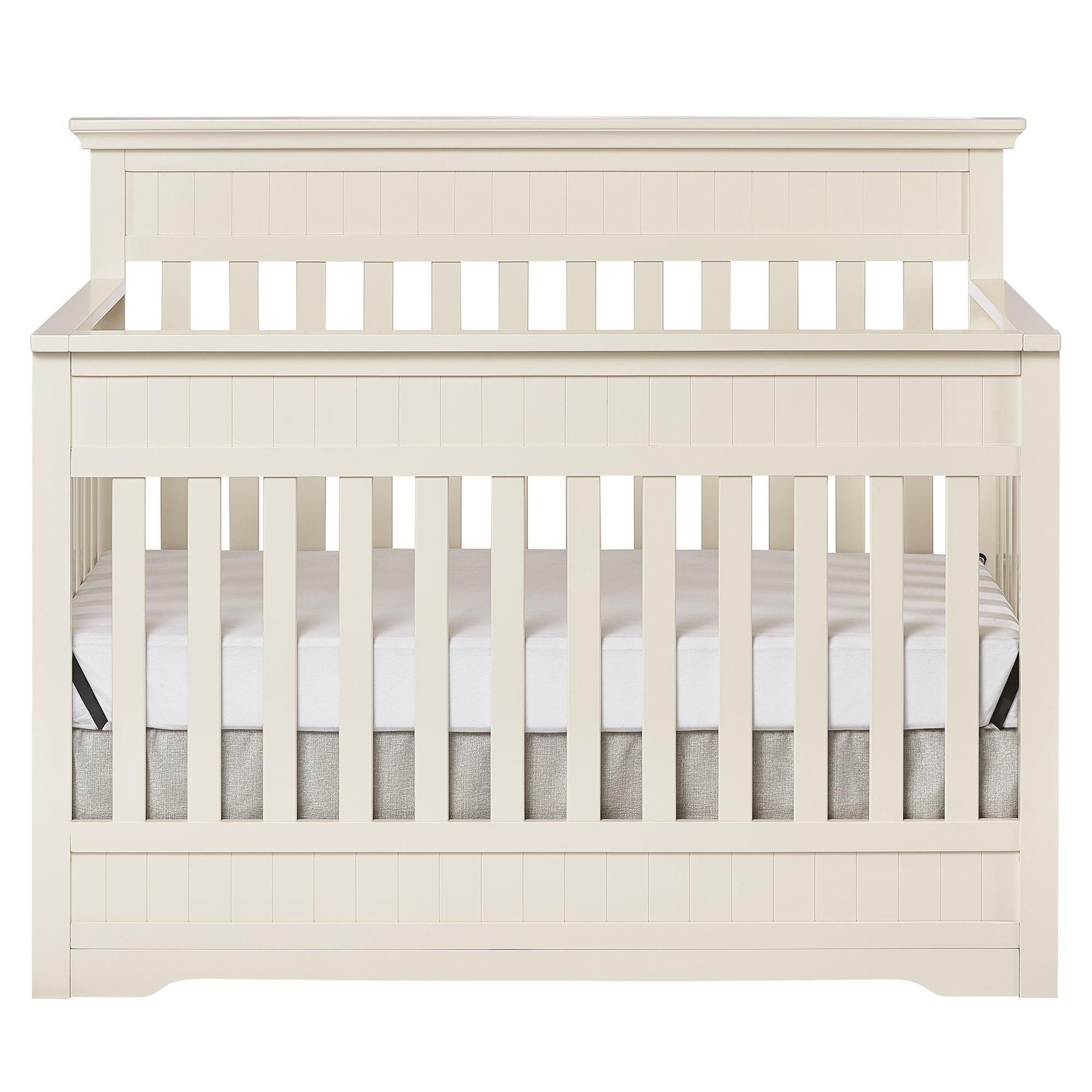 Dream On Me Chesapeake 5 In 1 Convertible Crib French White