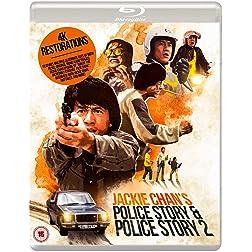 Jackie Chan's Police Story & Police Story 2 Eureka Classics [Blu-ray]
