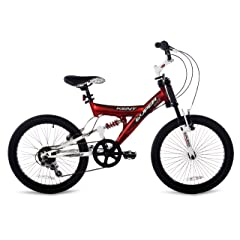 Kent Super 20 Boys Bike (20-Inch Wheels) Red/Black/White
