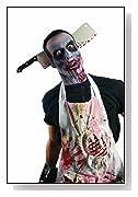 Zombie Shop Cleaver Through Head