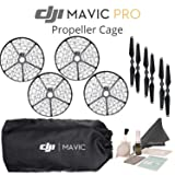 DJI Propeller Cage for Mavic Pro Quadcopter, CP.PT.000592, with 3 Sets of DJI 7228 Propellers (Required During Use) with DJI Soft Bag / Mavic Pro Sleeve and more...
