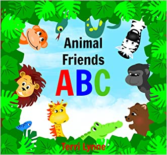 Animal Friends ABC - Early Learning Ages 0-4 Children's Picture book