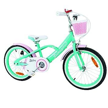 ItsImagical - 90715 - Vélo Enfants Bleu et Rose - Campagne et Ville
