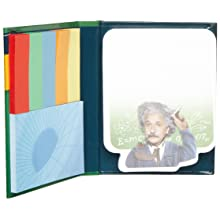 "Unemployed Philosophers Guild Einstein's Gluons Sticky Notes, 4-1/4"" Length x 3-1/4"" Width"
