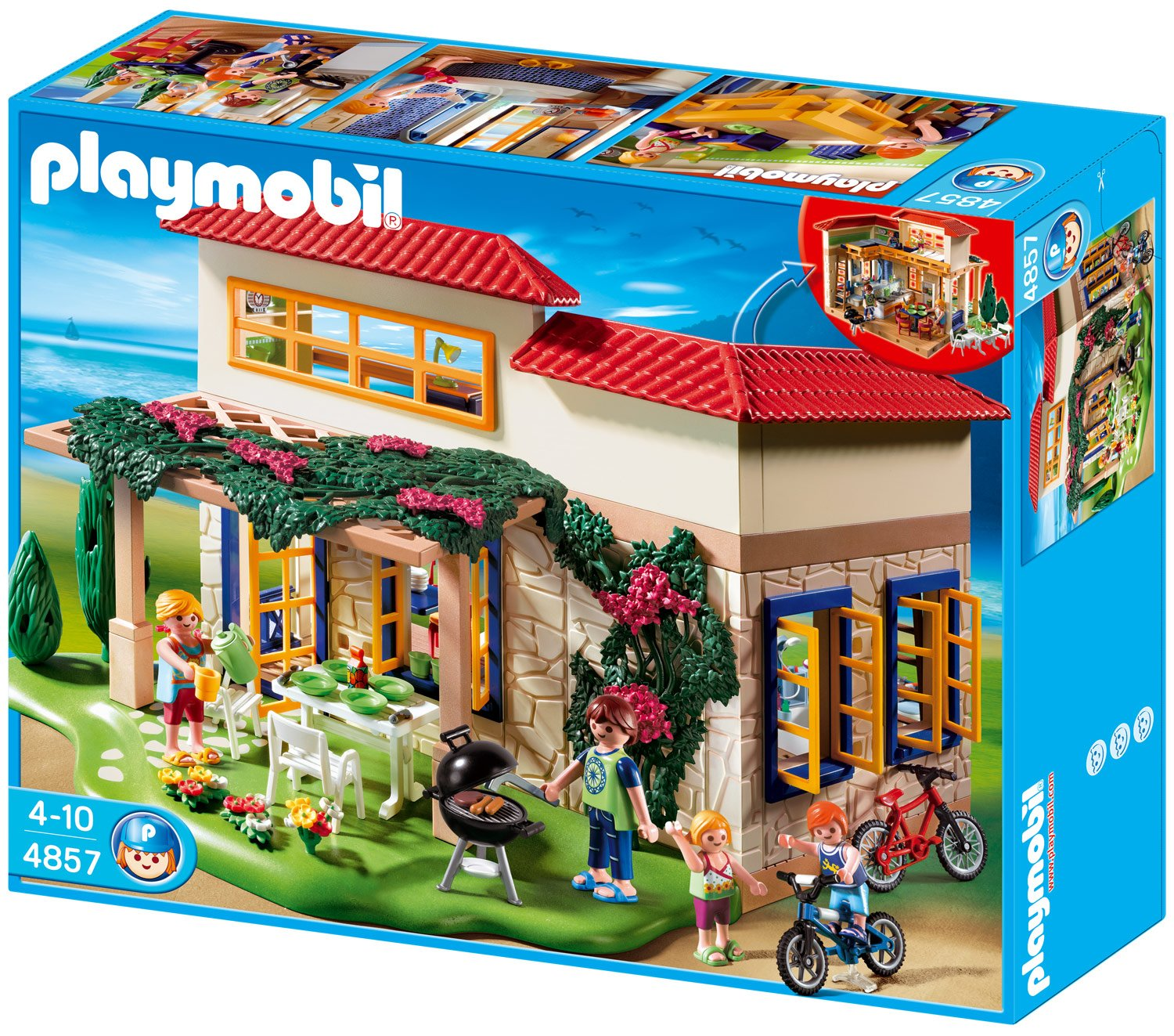 playmobil ferientraumhaus 4857 preisvergleich test. Black Bedroom Furniture Sets. Home Design Ideas