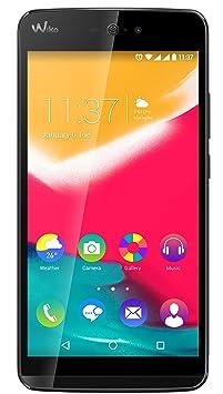 Wiko Rainbow Jam 4G Smartphone débloqué (Ecran: 5 pouces - 8 Go - Double SIM - Android 5.1 Lollipop) Noir