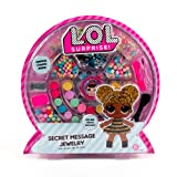 L.O.L. Surprise! Secret Message Jewelry by Horizon Group Usa, DIY Secret Jewelry Making Kit, Over 400 Beads & Charms Included, Multicolored (Renewed) (Color: Horizon)