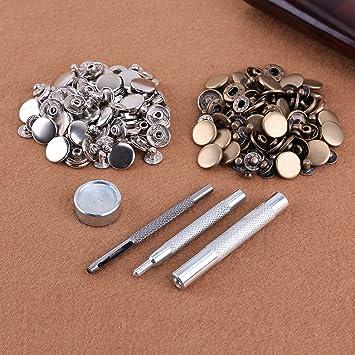 50x Nähen Werkzeug Holzknöpfe handgefertigt für die Dekoration Scrapbooking ZP