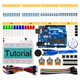 Freenove Basic Starter Kit with UNO R3 (Compatible with Arduino), 96 Pages Detailed Tutorial, 151 Items, 19 Projects, Solderless Breadboard