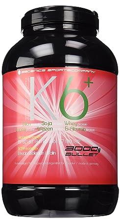 BBGenics K6 - Mehrkomponenten Protein, Erdbeere, 3000g Dose, SP2-EW0123