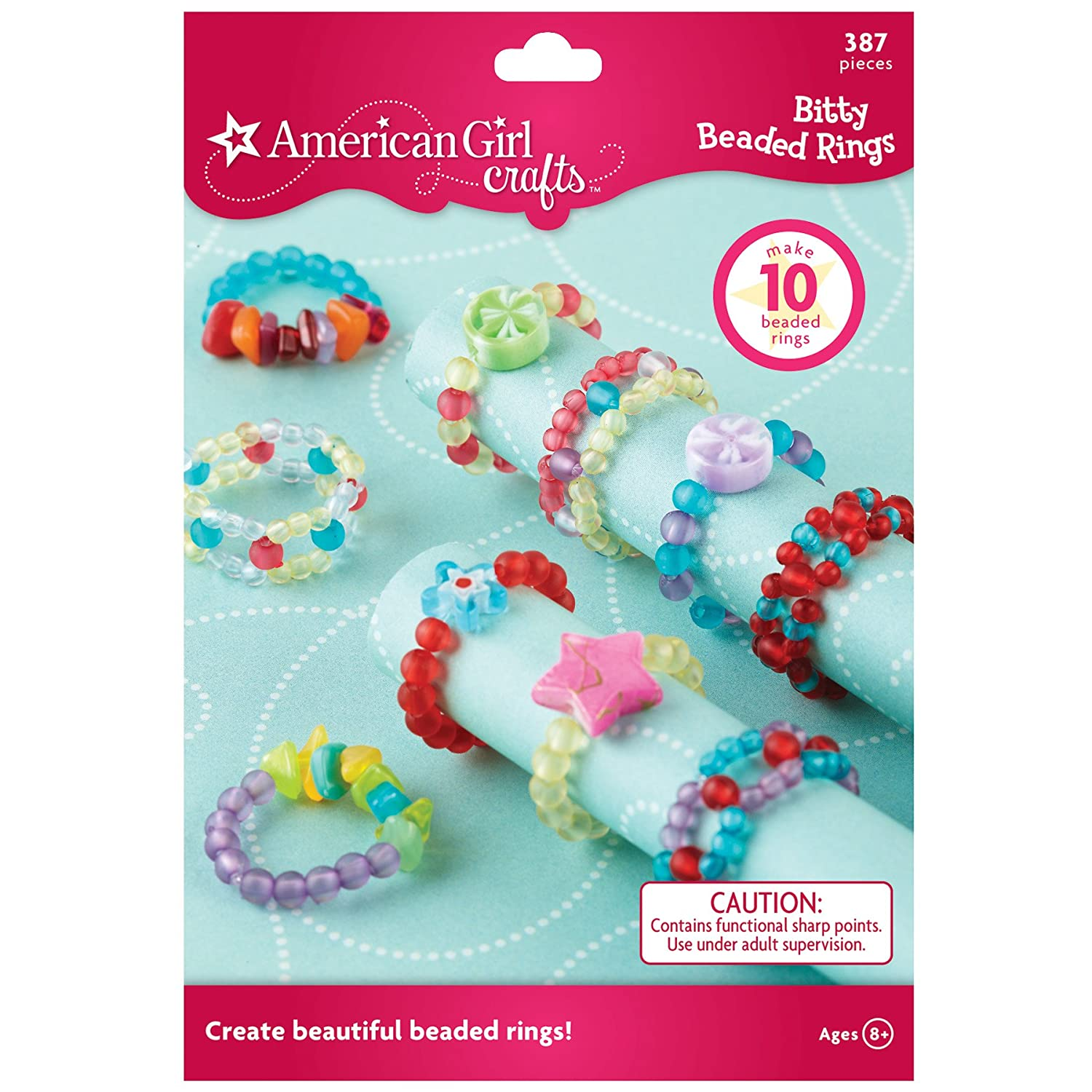 American Girl Crafts Bitty Beaded Rings Kit
