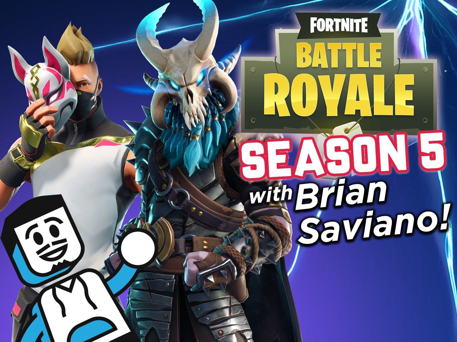 Clip: Fortnite Battle Royale Season 5 with Brian Saviano!