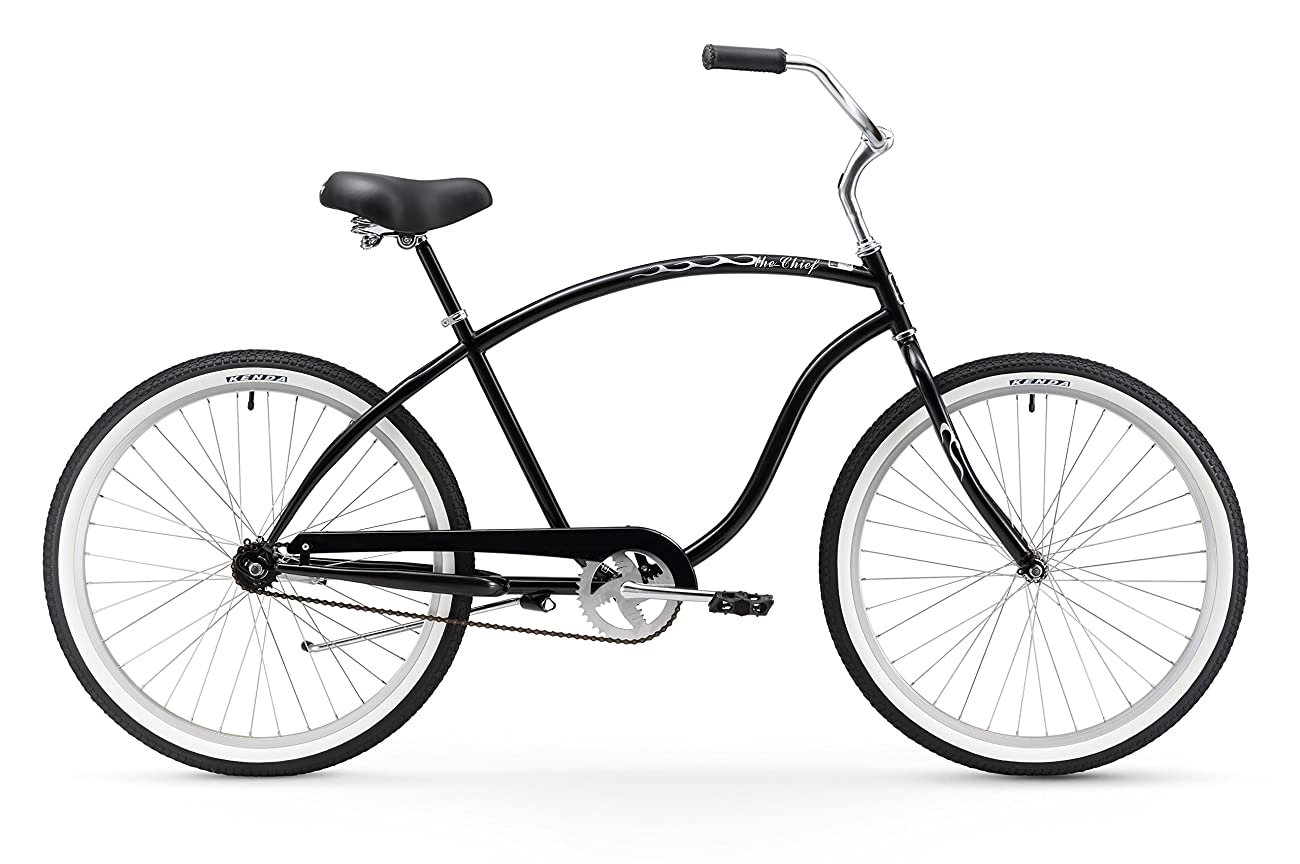 Firmstrong Chief Man Beach Cruiser Bicycle, 26-Inch 0
