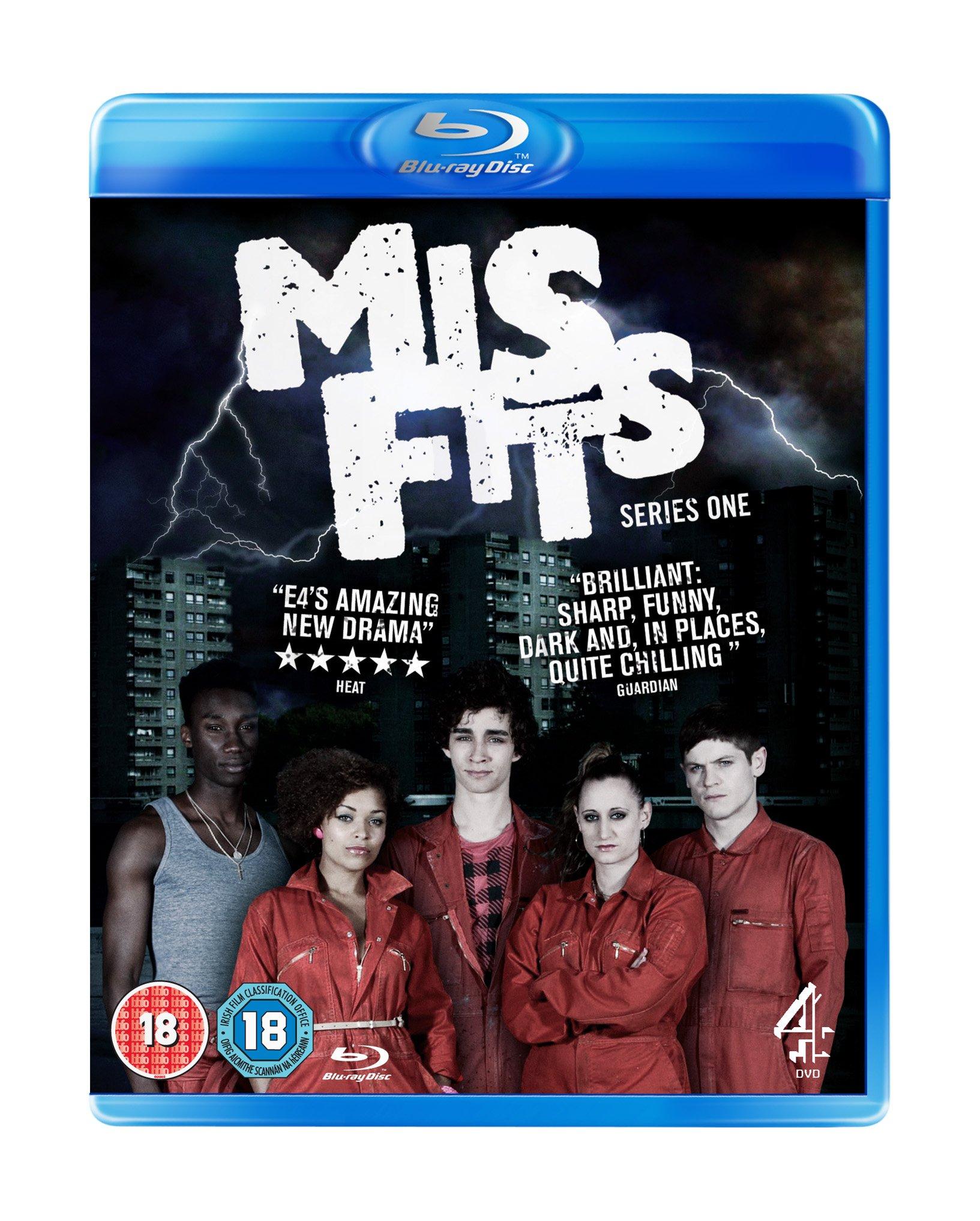 Misfits Season 1 Blu-ray