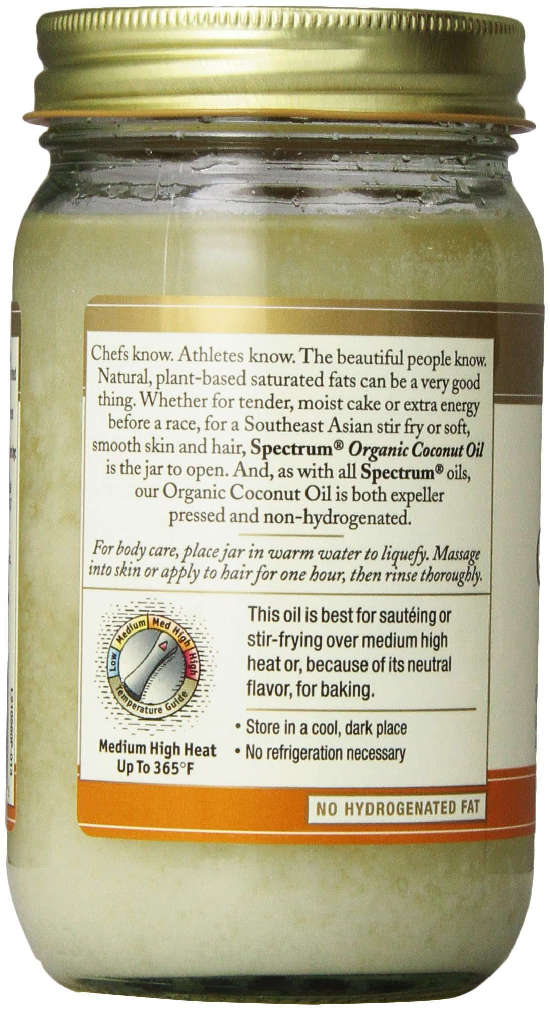 galleon spectrum naturals organic virgin coconut oil refined 14 ounce. Black Bedroom Furniture Sets. Home Design Ideas