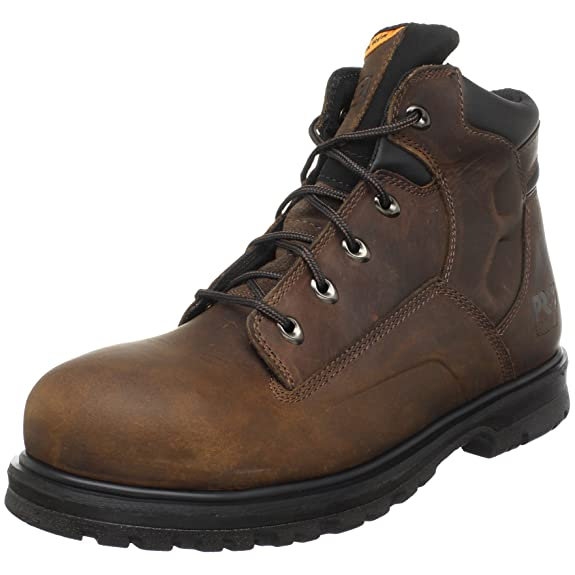 天木兰 Timberland PRO Magnus 6寸 男款 真皮钢头工装靴,¥64.21