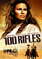 '100 Rifles' from the web at 'http://ecx.images-amazon.com/images/I/81wplcUAoaL._UY200_RI_UY200_.jpg'