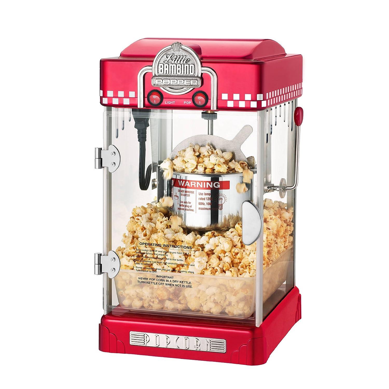 compact popcorn machine 1 gallon popcorn warming light. Black Bedroom Furniture Sets. Home Design Ideas