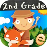 Animal Second Grade Math Games for Kids with Skills Free: The Best 1st, 2nd and 3rd Grade Numbers, Counting, Addition and Subtraction Activity Games for Boys and Girls