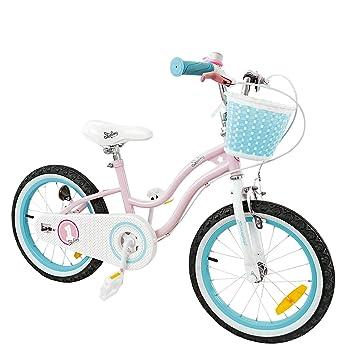 ItsImagical - 90717 - Vélo Enfant avec Stabilisateurs - Rose/Bleu