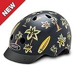Nutcase - Patterned Street Bike Helmet for Adults, Hawaiian Shirt, Small